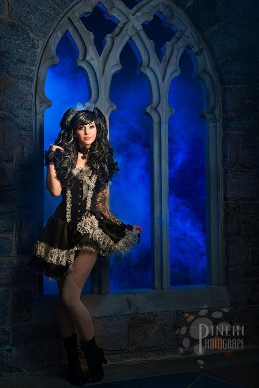 20130605 234855 Gothic Lolita shoot with Alexa